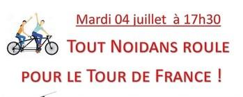 Tout Noidans roule pour le Tour de France !